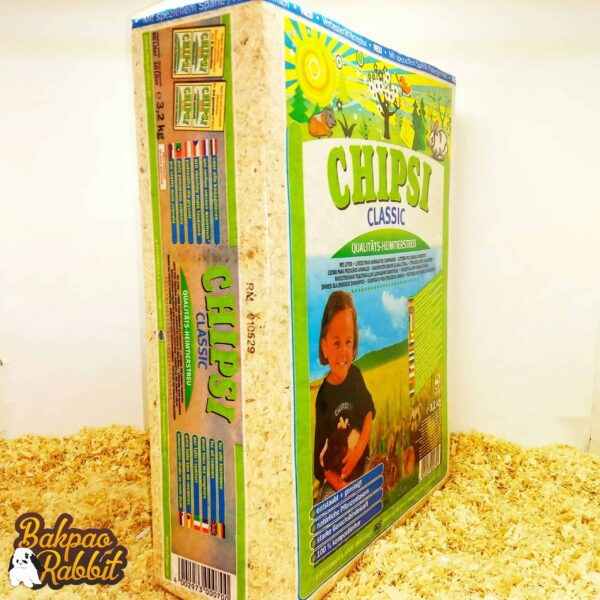 CHIPSI Classic Wood Chip Litter 3.2kg