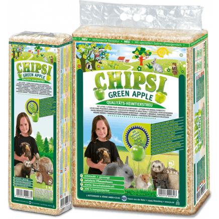 CHIPSI Green Apple Wood Chip Litter 3.2kg