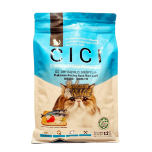 Toko Kelinci Bakpao Rabbit CICI Kitten Food Ocean Fish Flavour 1.2kg