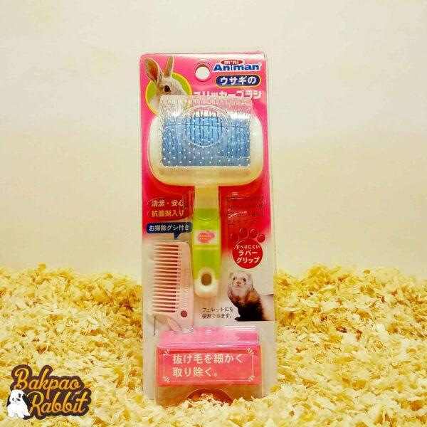 Toko Kelinci Bakpao Rabbit MiniAniman Slicker Brush For Rabbit