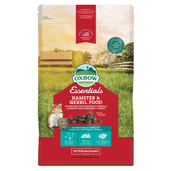 Oxbow Essentials Hamster & Gerbil Food 454g