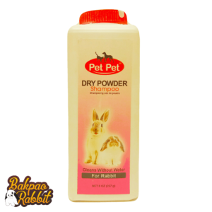 Toko Kelinci Bakpao Rabbit Pet Pet Dry Powder Shampoo For Rabbit 227g