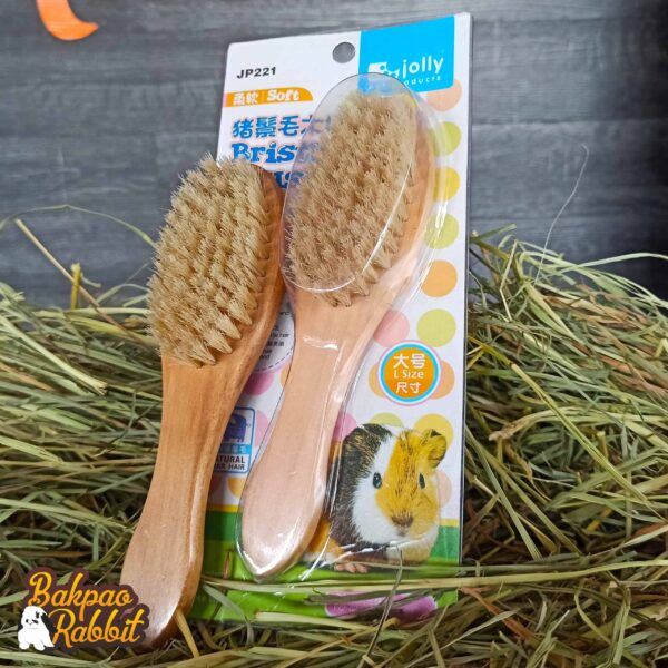 Toko Kelinci Bakpao Rabbit Jolly JP221 Soft Boar Bristle Brush Large